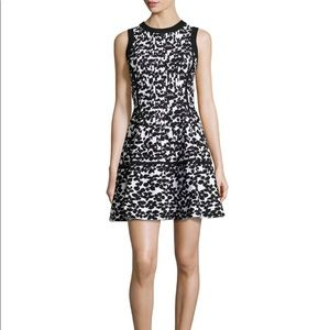 Kate Spade Floral Jacquard Dive Right In Dress XXS